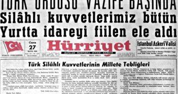 27 Mayıs Darbe Bildirisi