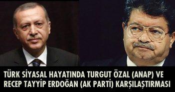 recep tayyip erdoğan ve turgut özal