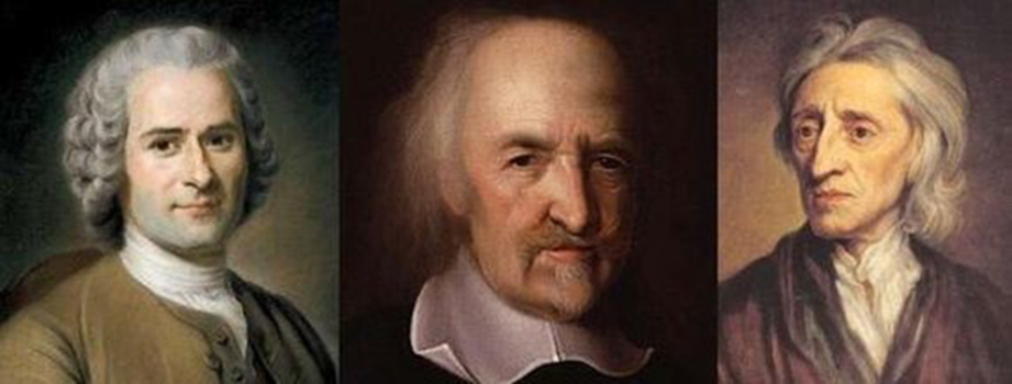 a comparison of the political theories of hobbes and rousseau Hobbes, locke and rousseau comparison grid hobbes locke rousseau political continuum liberal.