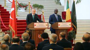 Cumhurbaşkanı Recep Tayyip Erdoğan ve Senegal Cumhurbaşkanı Macky Sall