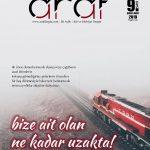 ARAF DERGİSİ 9. SAYISI ÇIKTI