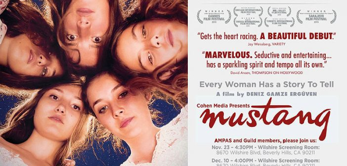 ARTICLE | ANALYSING OF GENDER AND CINEMA IN TURKEY: MUSTANG